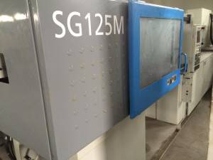 Sumitomo 125t SG125M high speed used Injection Molding Machine