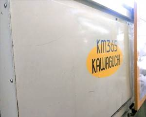 Kawaguchi 365t (servo) used Injection Molding Machine