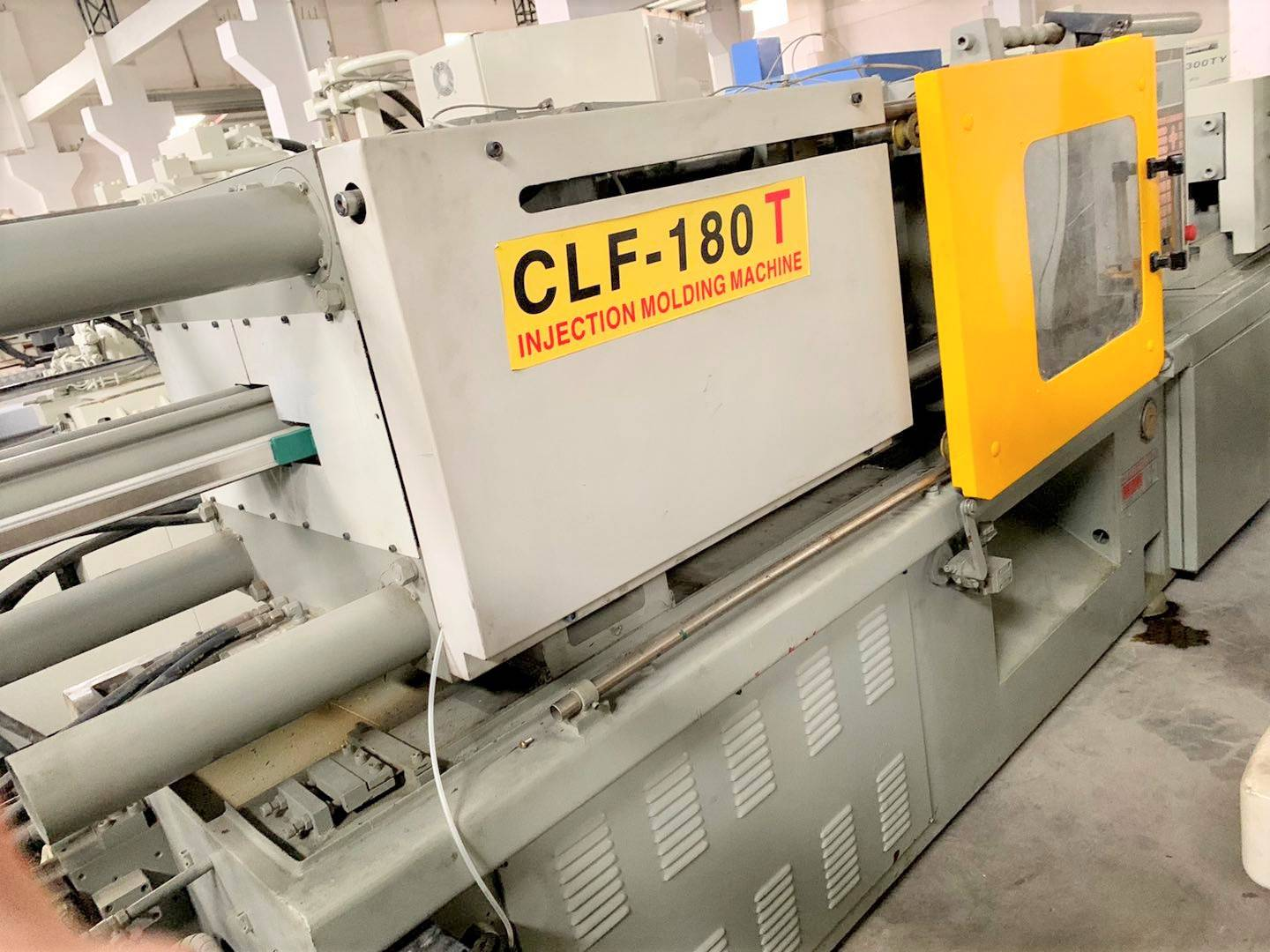 CLF-180T used Injection Molding Machine Featured Image