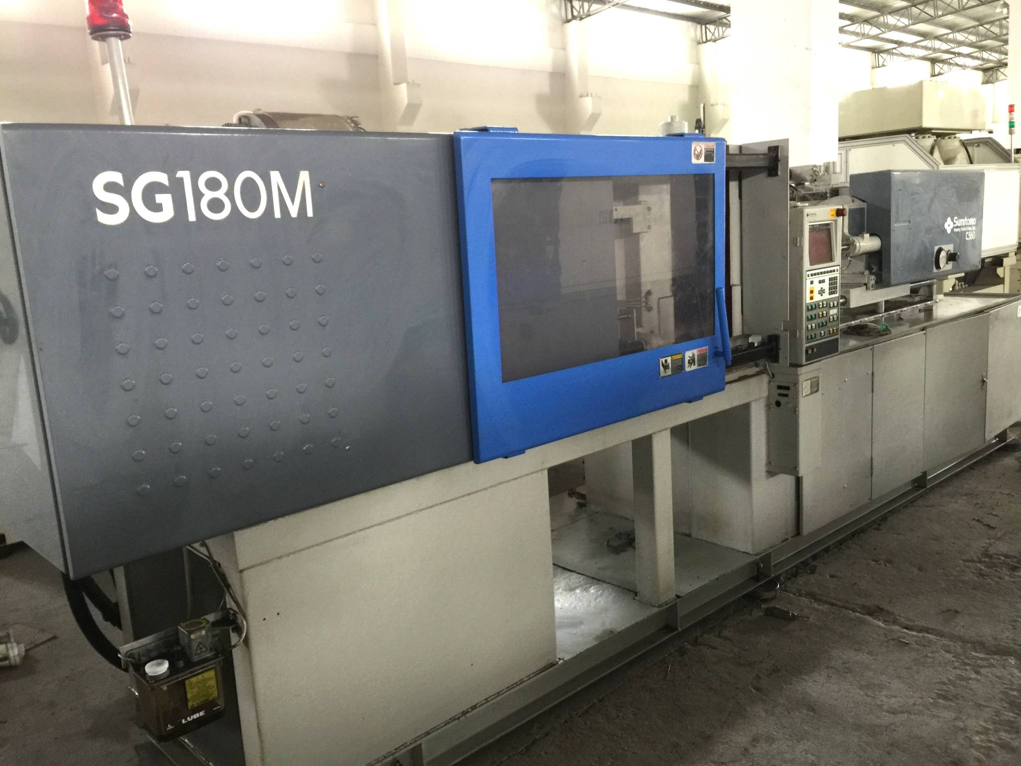 Sumitomo 180t SG180M High Speed used Injection Molding Machine Featured Image