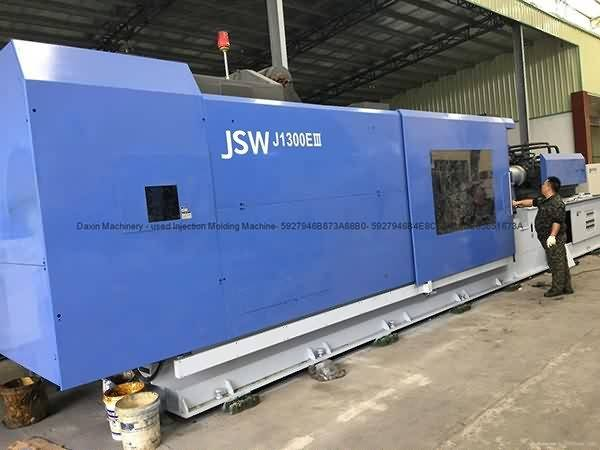 JSW1300t (J1300EIII) used Injection Molding Machine Featured Image