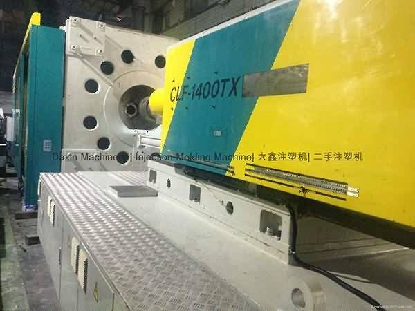 Chuan Lih Fa CLF-1400TX used Injection Molding Machine