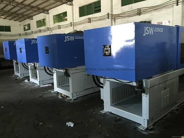 JSW220t (J220EIII) used Injection Molding Machine