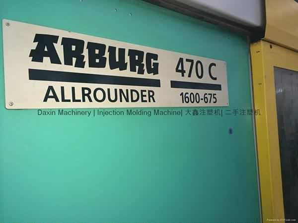 Arburg 160t used Injection Molding Machine