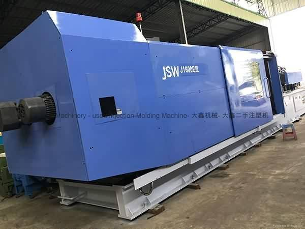 JSW1600t (JSWJ1600EIII) used Injection Molding Machine Featured Image