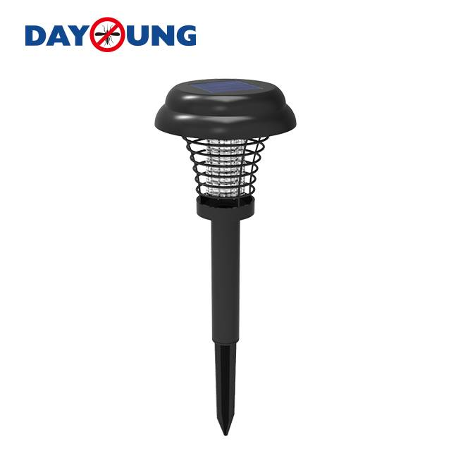 Outdoor garden solar power mosquito fly trap/killer lamp pest control Featured Image