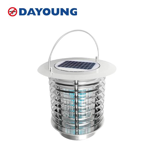 Solar mosquito killer lamp for gardens or campings Featured Image