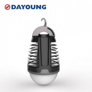 Battery powered 2 in 1 led mosquito killer bulb