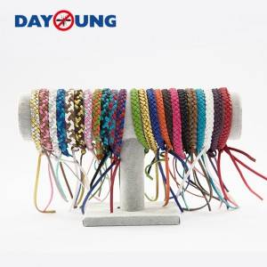 Leather mbu mbu wristbands