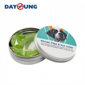 Veterinarian recommended safe effective and easy usage Natural Flea and tick repellent pet collar