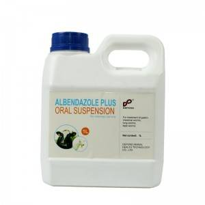 Albendazole 2.5% suspension