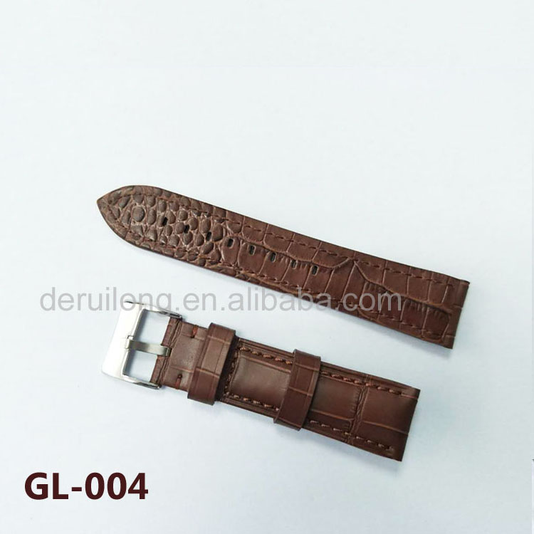 The latest design high quality leather strap men's leather strap