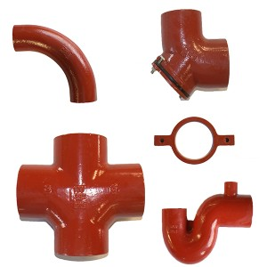 NO HUB SML PIPE FITTINGS EN877