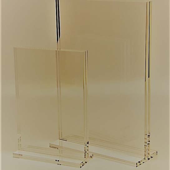 Top Suppliers High Quality Acrylic Cosmetic Display - plastic menu holders – LongFuJin