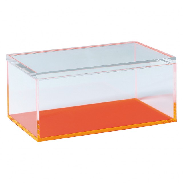 Factory best selling High Quality Cosmetic Display Stand - acrylic perspex box with lid – LongFuJin