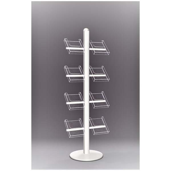 High definition Acrylic Makeup Stand - acrylic brochure stand – LongFuJin detail pictures