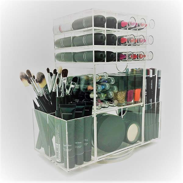 Super Lowest Price Acrylic Lipstick Display - makeup storage organizer – LongFuJin
