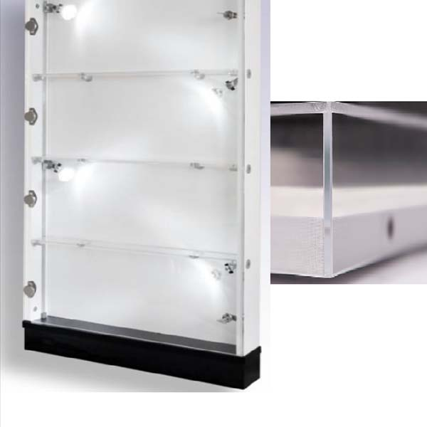 Cheapest Price High Quality Beauty Displays Rack - acrylic box frame – LongFuJin