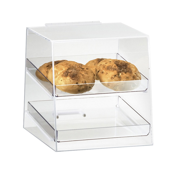 Online Exporter Solar Power Display Stand Rack - acrylic bakery display case – LongFuJin