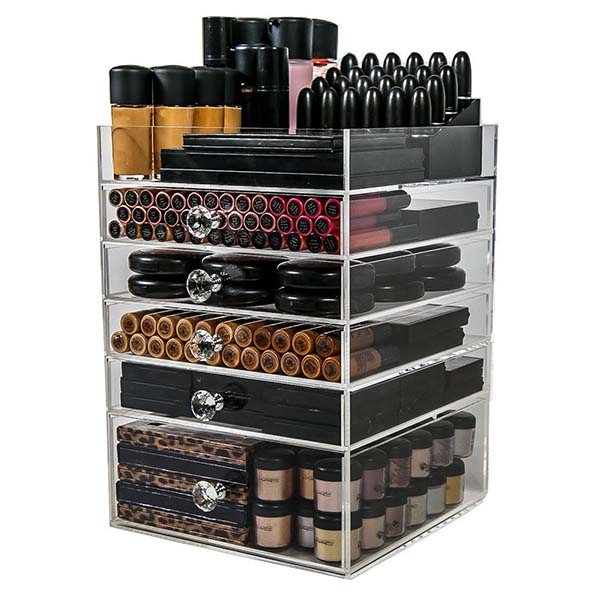 2018 High quality Acrylic Cosmetics Unit - makeup drawer organizer – LongFuJin