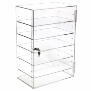 acrylic box shelves