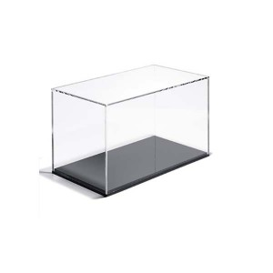 clear acrylic shoe display box