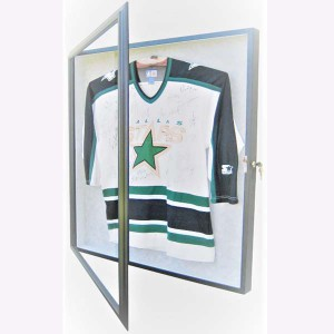 clear acrylic jersey display case