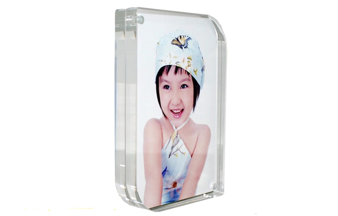 2018 Latest Design Pop Trade Show Corrugated Cardboard Floor Displays - photo frame acrylic – LongFuJin