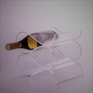 wine bottle holder for table