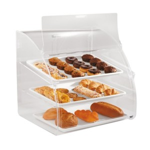 acrylic food display case