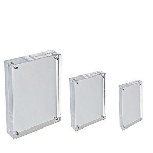 acrylic display blocks