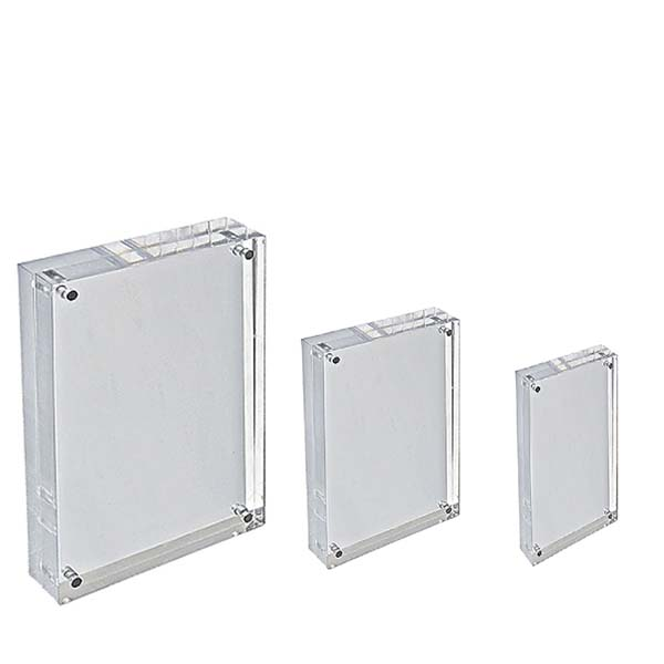 Bottom price Table Acrylic Photo Stand - acrylic display blocks – LongFuJin