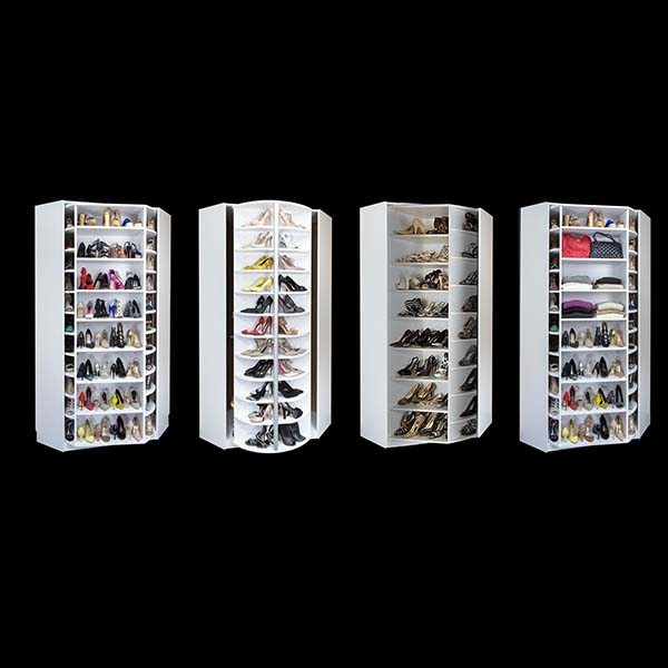 High reputation Portable Fabric Display - acrylic shoe case – LongFuJin