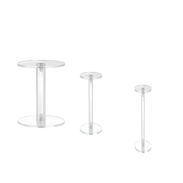 Discountable price Lockable Display Cabinet - acrylic display pedestal – LongFuJin