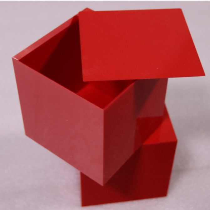 Hot-selling Display For Cards - acrylic cube box – LongFuJin