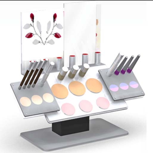 Factory selling Retail Display Rack - makeup display stand – LongFuJin