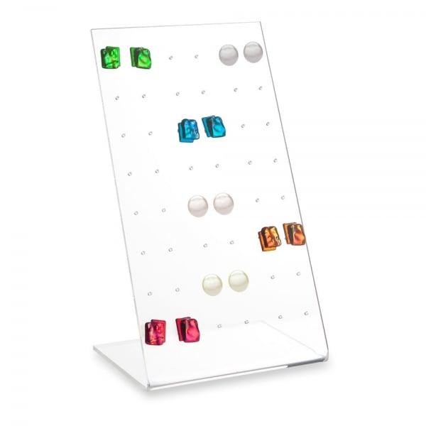 Reliable Supplier Display Material - acrylic earring display stand – LongFuJin detail pictures