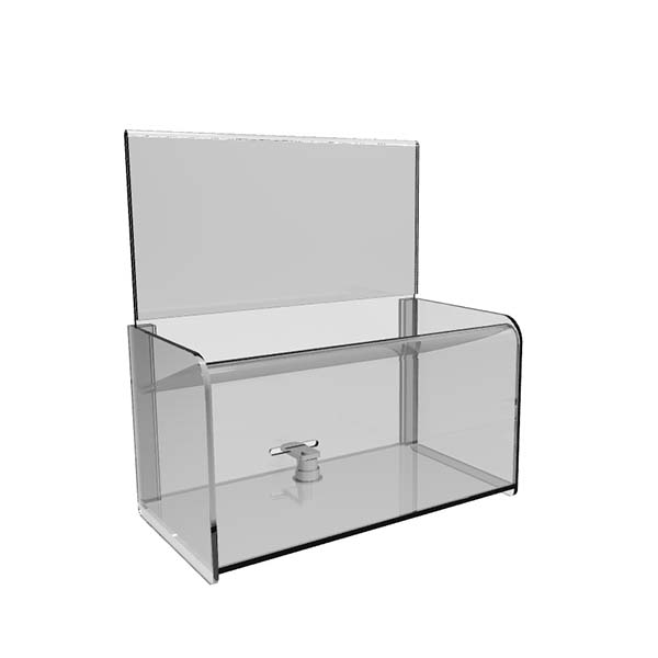 High Quality Nail Polish Display Units - acrylic display box with lid – LongFuJin