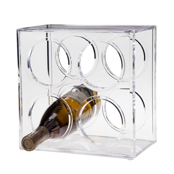 Good quality Wine Glass Display Cabinet - wine stand – LongFuJin Featured Image
