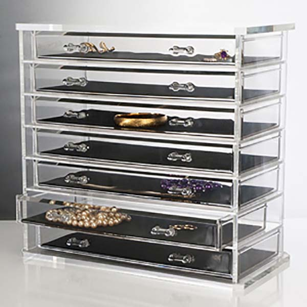 Chinese wholesale Poster Display Stand - makeup display case – LongFuJin Featured Image