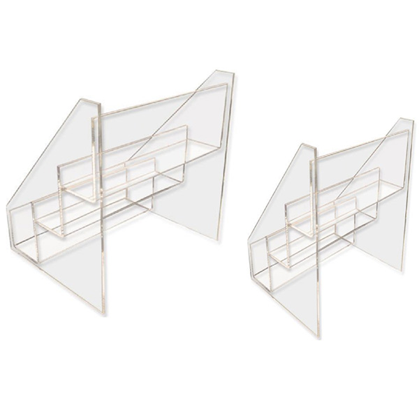 Factory made hot-sale Cosmetics Makeup Display Unit - acrylic cake stands – LongFuJin