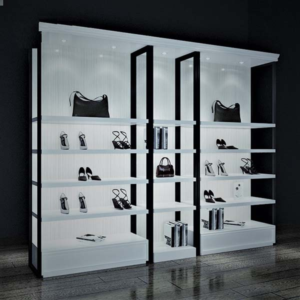 OEM manufacturer Cosmetic Display Wall Unit - acrylic shoe box display – LongFuJin