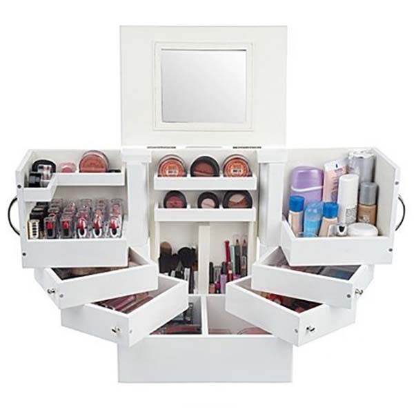 18 Years Factory Shoes Selling Display Stand - cosmetic storage organizer – LongFuJin detail pictures