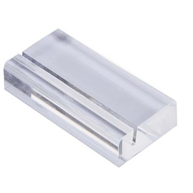 New Delivery for Wood Glass Cabinet - acrylic card holder – LongFuJin