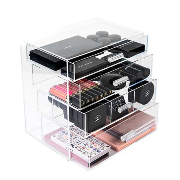 Factory Free sample Cosmetic Diaplay Stand - cosmetic makeup organizer – LongFuJin