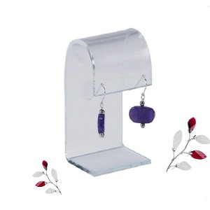perspex earring holder