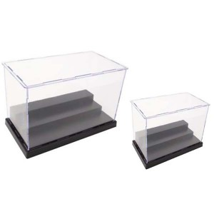 plastic display boxes