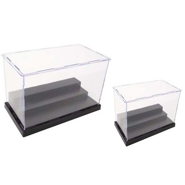 Top Quality Black Acrylic Display Cube Riser - plastic display boxes – LongFuJin