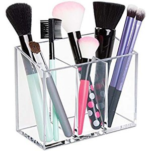 acrylic makeup brush storage