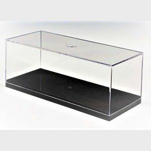 shoe display case clear